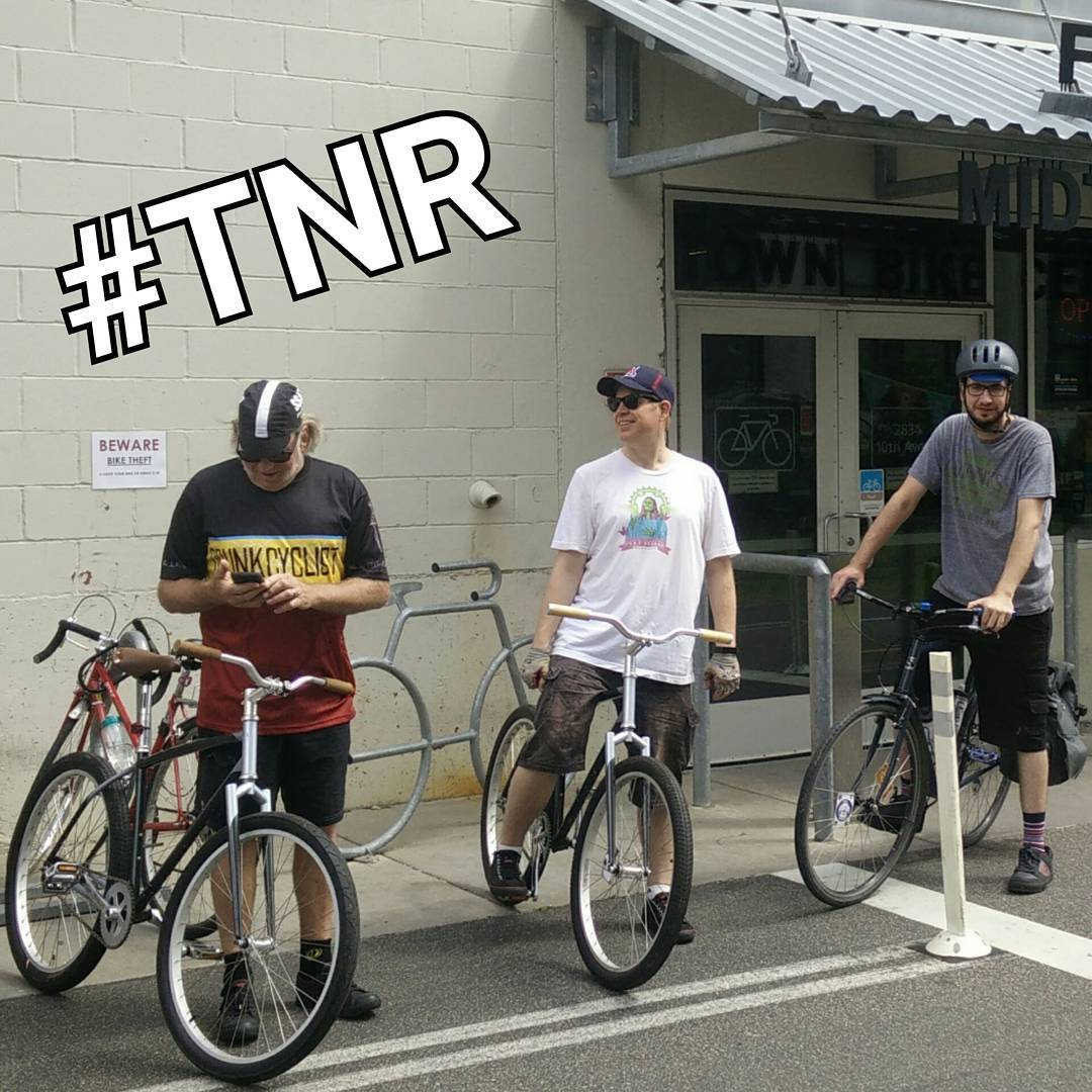 TNR 7/5 - route TBD based on whether or not we want to get wet. @ltsbrewing at 8 pm