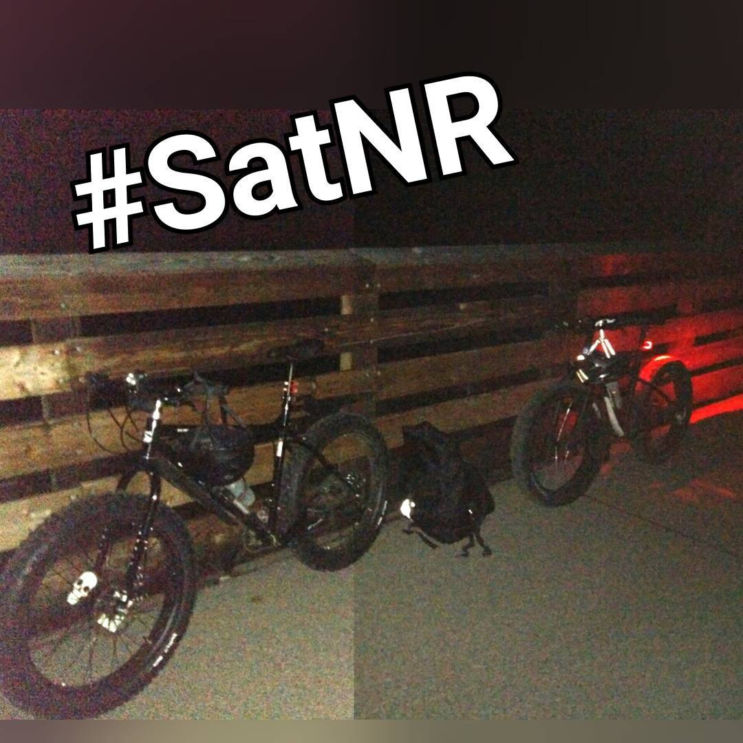 9/10 - Saturday night gravel to Tilly's. Douglas Trailhead at 8:30 pm.