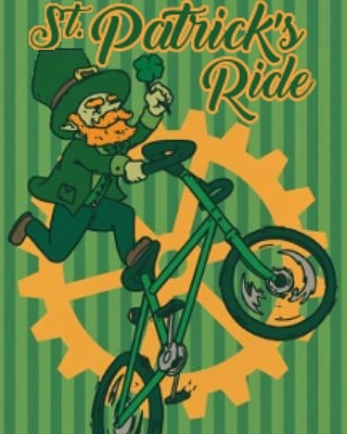 Saint Patrick's DAY Ride - March 17, 2018 at 1:00 pm. Starts at @ltsbrewing