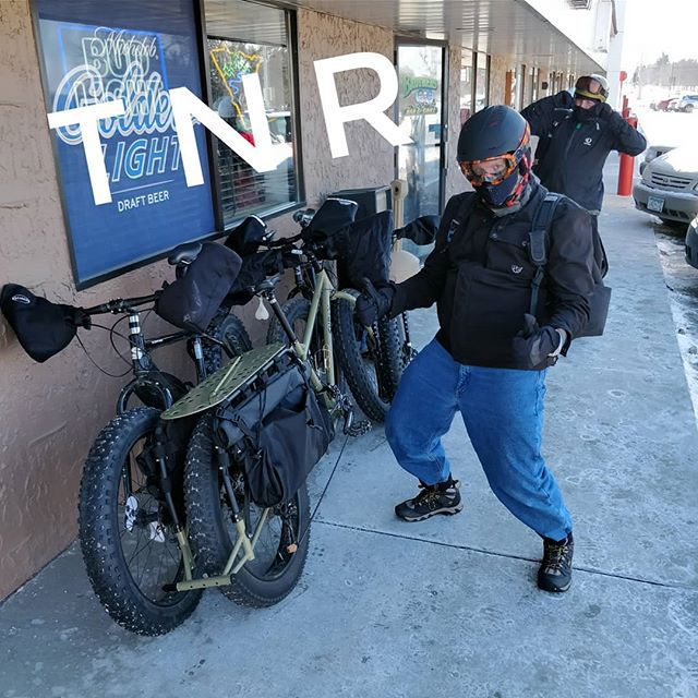 Tuesday Night Ride 1/29 at 8 pm - Meet at @foragerbrewery and then survive. Prepare for -20s air temp and -60s wind chill