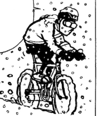 A little spoke card sneak peak. The Swirlie - Saturday 2/16 - 10 am at Douglas Trailhead